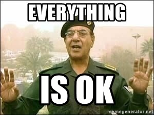 Image result for baghdad Bob everything is ok