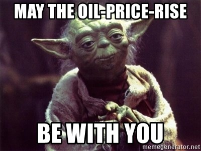 May the oil-price-rise be with You - Yoda | Meme Generator