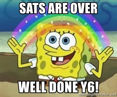 Image result for sats are over