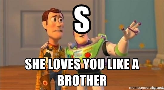 Woody and Buzz HD - s she loves you like a brother