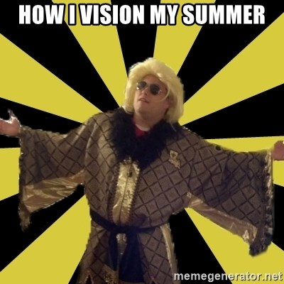Party Foul Flair - how i vision my summer