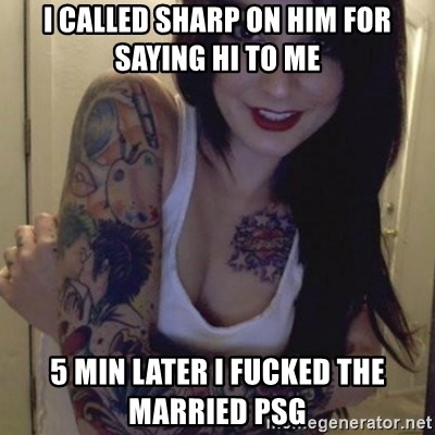 Alyssa Rosales - I CALLED SHARP ON HIM FOR SAYING HI TO ME  5 MIN LATER I FUCKED THE MARRIED PSG