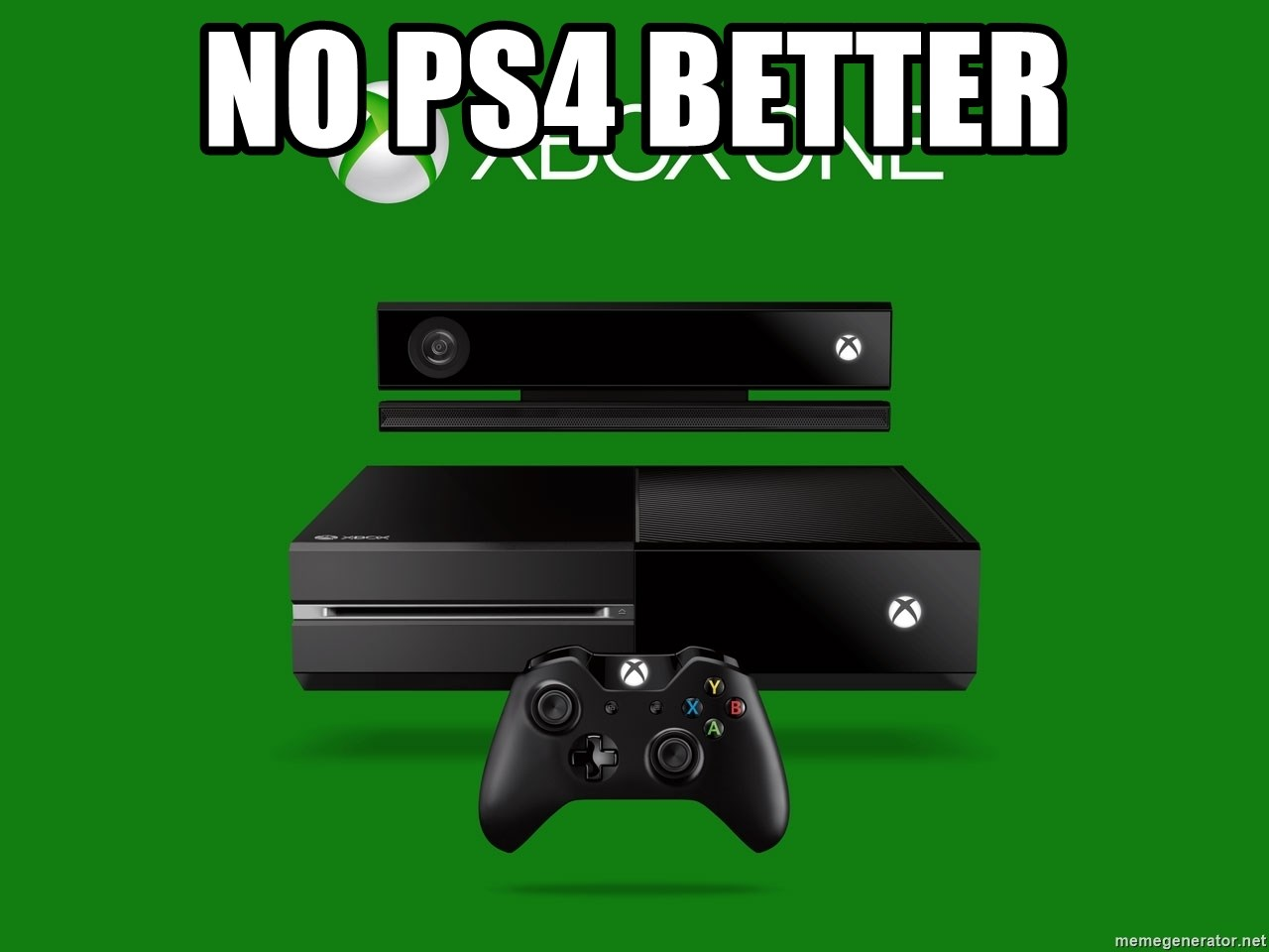 xbox one = crap - NO PS4 BETTER