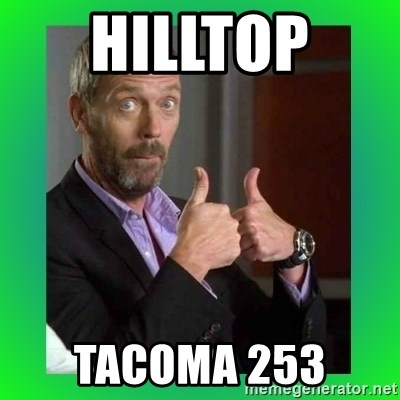 Thumbs up House - Hilltop  Tacoma 253