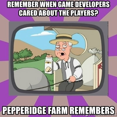 Pepperidge Farm Remembers FG - Remember when game developers cared about the players? Pepperidge Farm remembers