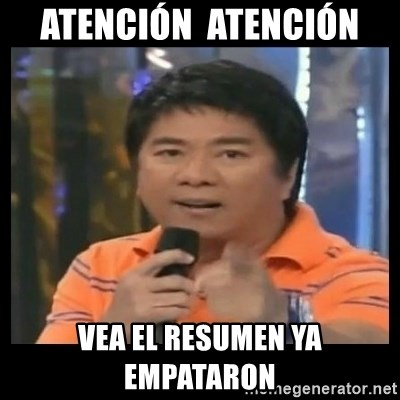 You don't do that to me meme - ATENCIÓN  ATENCIÓN  VEA EL RESUMEN YA EMPATARON