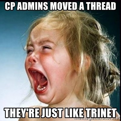 screaming girl - CP ADMINS MOVED A THREAD THEY'RE JUST LIKE tRInET
