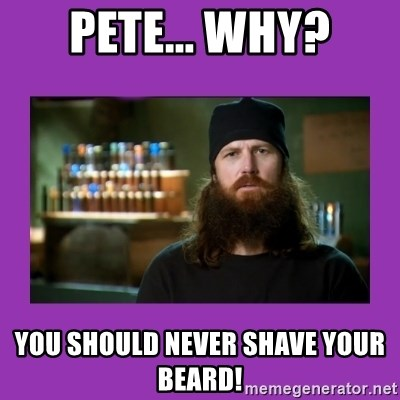 16 Reasons Guys Should Never Ever Shave Their Beards With Images