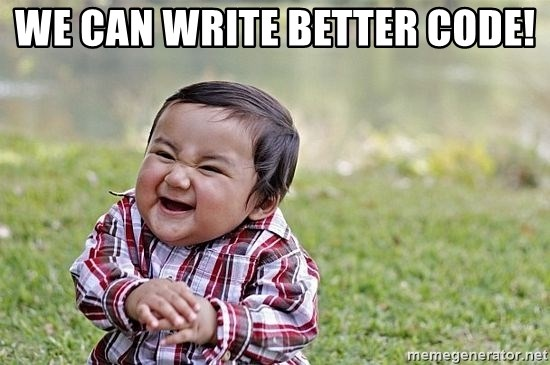 Evil Asian Baby - WE CAN WRITE BETTER CODE!
