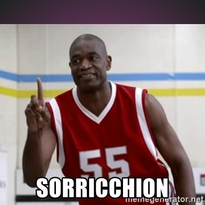 Not in my house Mutombo -  SORRICCHION