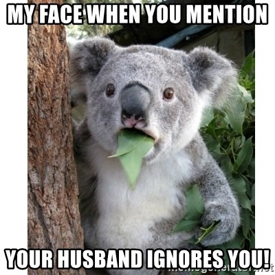 what to do if husband ignores you