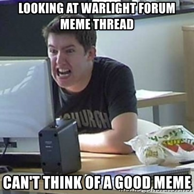 Angry Gary - Looking at warlight forum meme thread can't think of a good meme