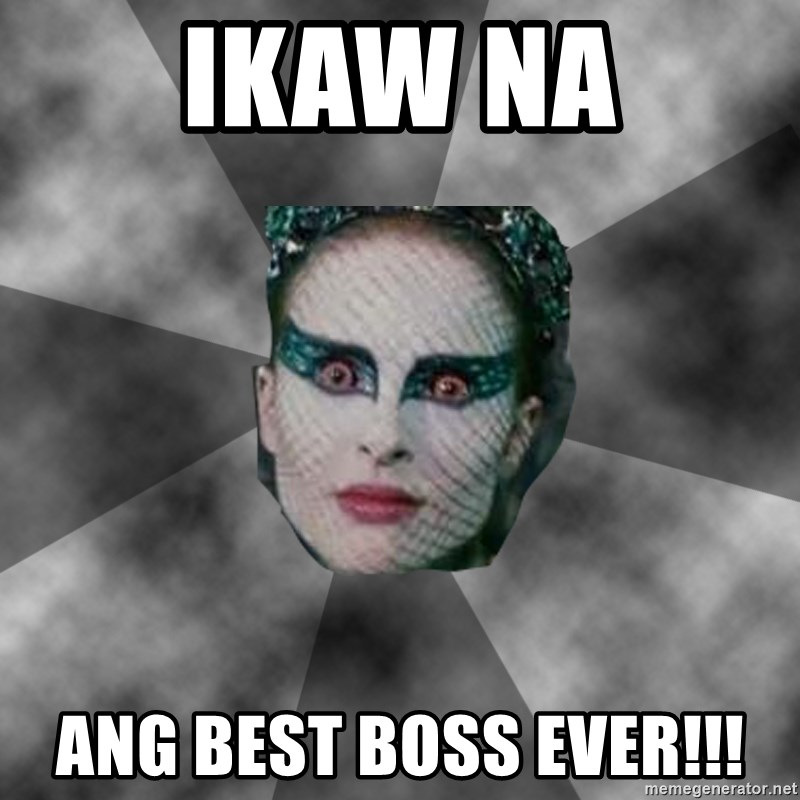 Black Swan Eyes - Ikaw na Ang best boss ever!!!