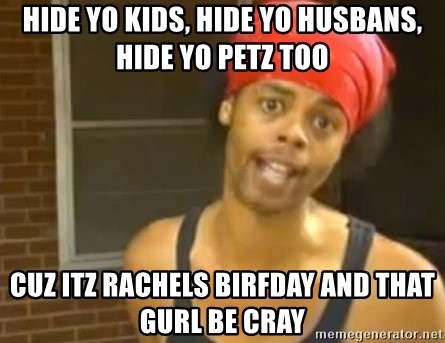 Antoine Dodson - HIDE YO KIDS, HIDE YO HUSBANS, HIDE YO PETZ TOO CUZ ITZ RACHELS BIRFDAY AND THAT GURL BE CRAY
