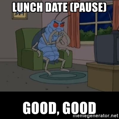 Family Guy Beetle - Lunch Date (pause) GOOD, GOOD