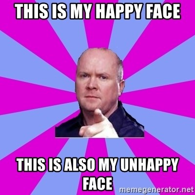 Phil Mitchell - This Is My Happy Face This Is Also My Unhappy Face