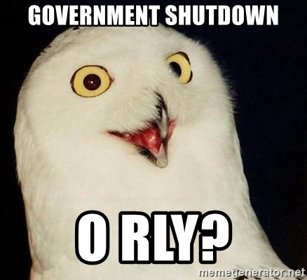 Orly Owl - government shutdown o rly?