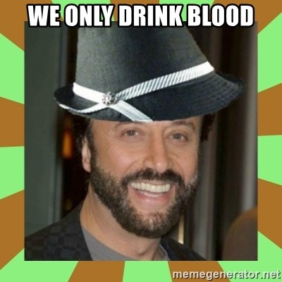 RussianFedora - WE Only drink blood