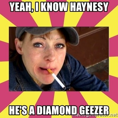 Patricia (Patty) Downtown Eastside Vancouver, BC - yeah, I know Haynesy he's a diamond geezer