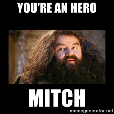 You're a Wizard Harry - You're an hero MITCH