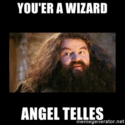 You're a Wizard Harry - You'er a Wizard Angel Telles