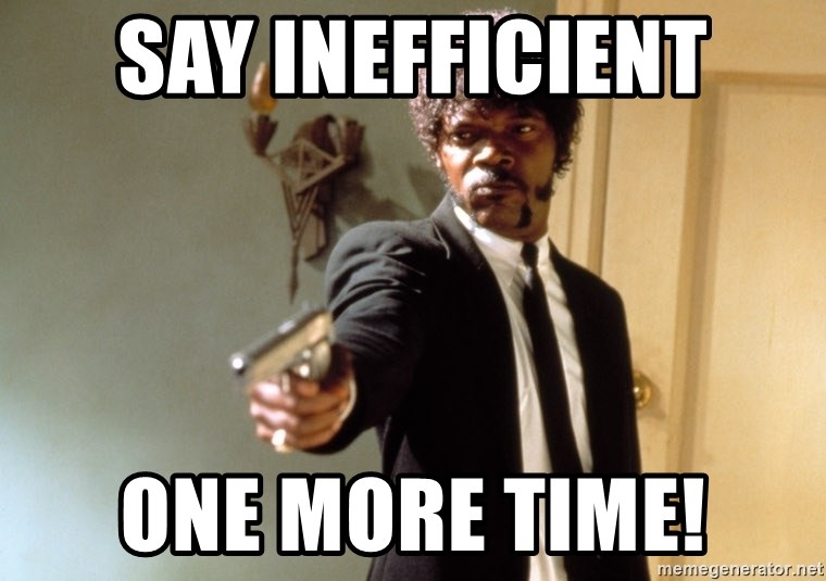 Samuel L Jackson - Say Inefficient One More Time!