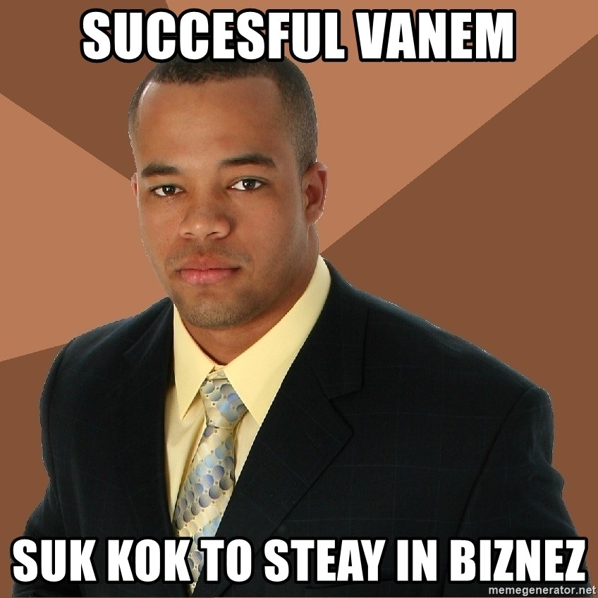 Successful Black Man - succesful vanem suk kok to steay in biznez