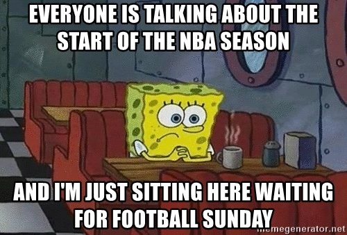 Coffee shop spongebob - Everyone is talking about the start of the NBA season And I'm just sitting here waiting for football Sunday