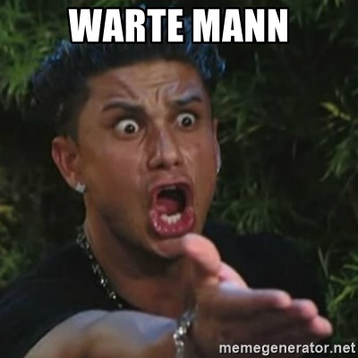 Angry Guido  - Warte mann