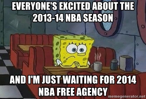 Coffee shop spongebob - Everyone's excited about the 2013-14 NBA season And i'm just waiting for 2014 NBA Free Agency
