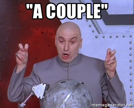 "Dr. Evil Air Quotes - ""A Couple"""
