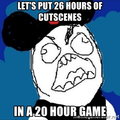 runDisney Rage - Let's Put 26 hours of cutscenes IN A 20 HOUR GAME