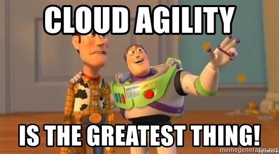 WoodyAndBuzz - Cloud Agility is the greatest thing!