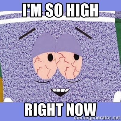 Towelie - I'M SO HIGH RIGHT NOW