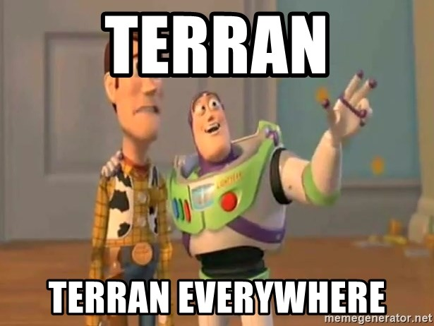 X, X Everywhere  - Terran Terran everywhere