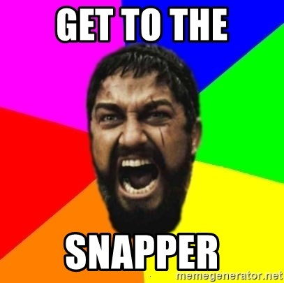 sparta - GET TO THE SNAPPER