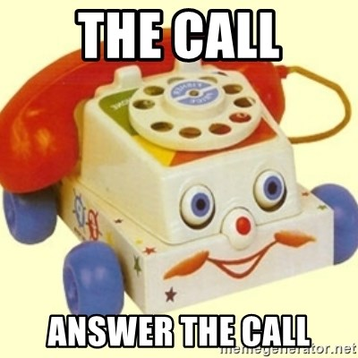 Sinister Phone - THE CALL ANSWER THE CALL