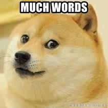 dogeee - much words