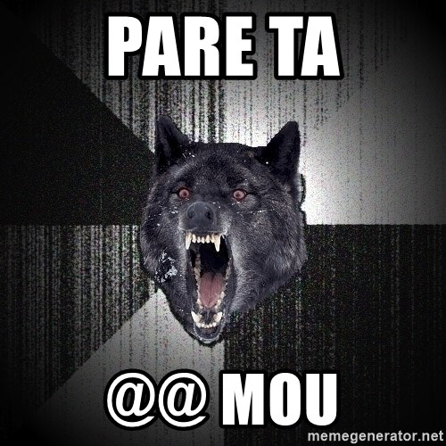 Insanity Wolf - PARE TA @@ MOU
