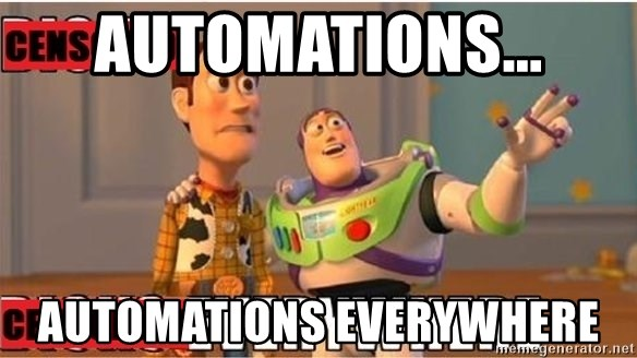 Toy Story Everywhere - Automations... AUTOMATIONS EVERYWHERE