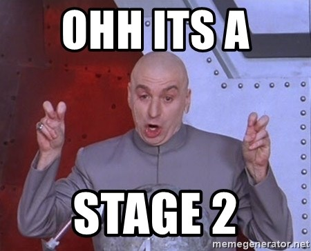 Ohh Its A Stage 2 Dr Evil Air Quotes Meme Generator