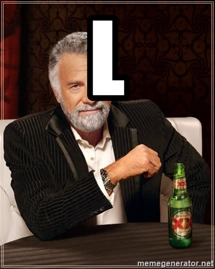 The Most Interesting Man In The World - l