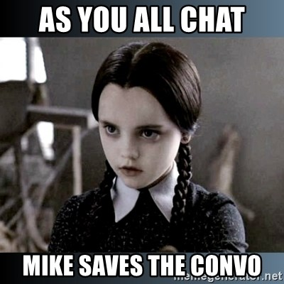 Vandinha Depressao - AS YOU ALL CHAT MIKE SAVES THE CONVO