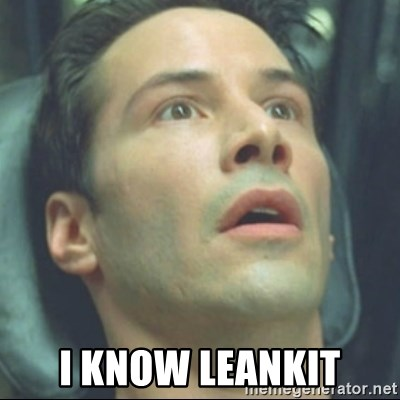 i know kung fu -  I KNow Leankit