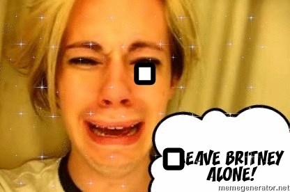 leave britney alone - .         .