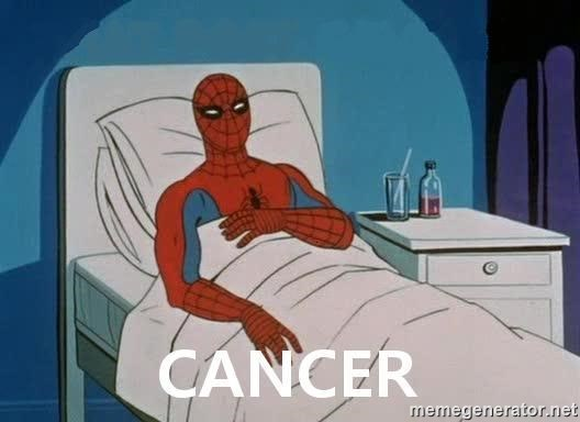 Cancer Spiderman -