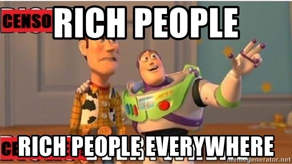 Toy Story Everywhere - Rich People rich people everywhere