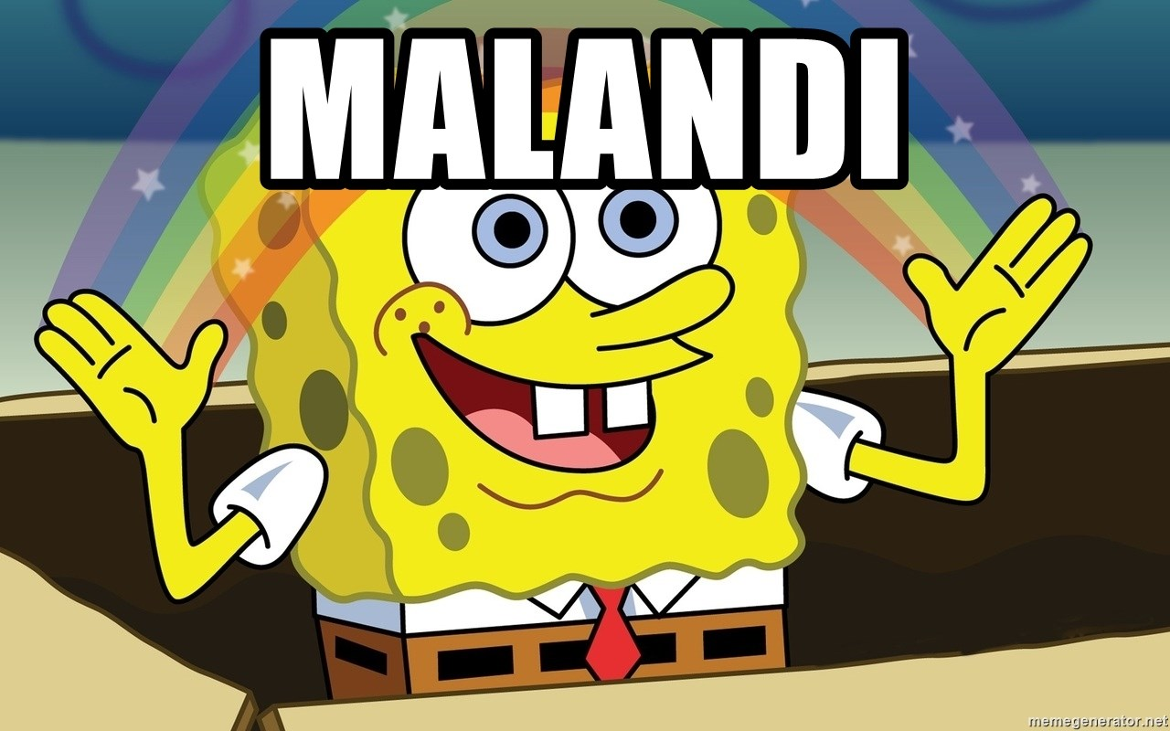 Spongebob Imagination meme - MALANDI