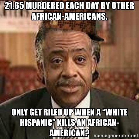 21 65 Murdered Each Day By Other African Americans Only Get