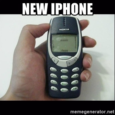 Niggas be like - new iphone